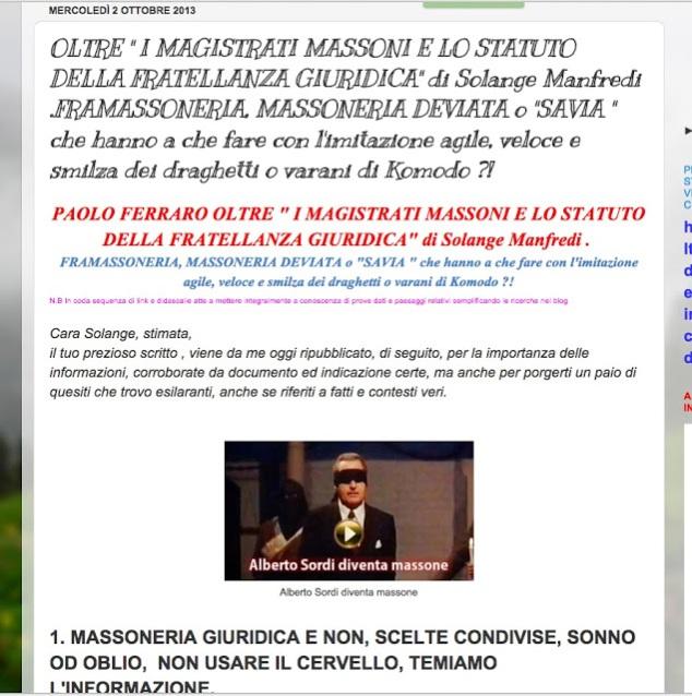 http://paoloferrarocddgrandediscovery.blogspot.it/2013/10/oltre-i-magistrati-massoni-e-lo-statuto.html